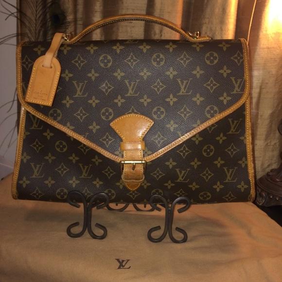 bc061b670f0c Louis Vuitton Bel Air Satchel/Small Soft Briefcase